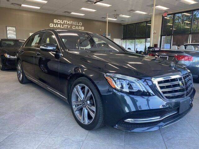 2018 Mercedes-Benz S-Class for sale at SOUTHFIELD QUALITY CARS in Detroit MI