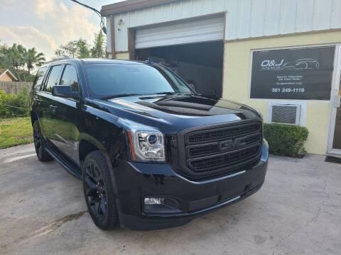 2017 GMC Yukon for sale at O & J Auto Sales in Royal Palm Beach FL