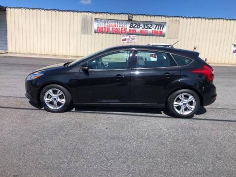 2014 Ford Focus for sale at Stikeleather Auto Sales in Taylorsville NC