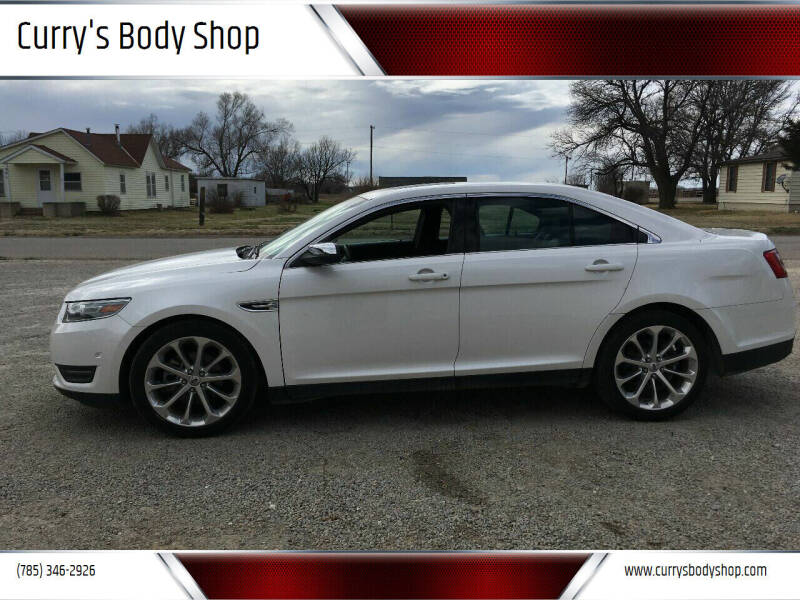 2013 Ford Taurus for sale at Curry's Body Shop in Osborne KS