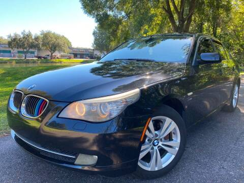 2010 BMW 5 Series for sale at Powerhouse Automotive in Tampa FL