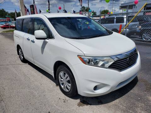 2011 Nissan Quest for sale at America Auto Wholesale Inc in Miami FL