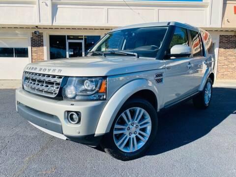 2014 Land Rover LR4 for sale at North Georgia Auto Brokers in Snellville GA