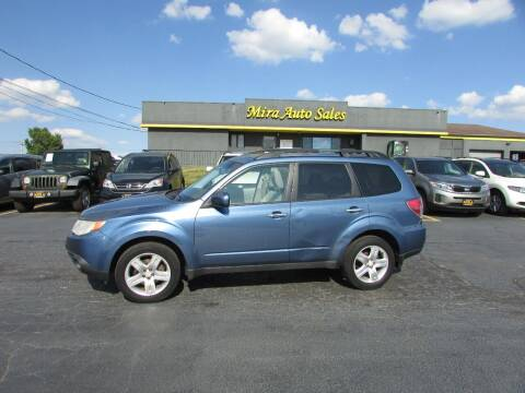 2010 Subaru Forester for sale at MIRA AUTO SALES in Cincinnati OH