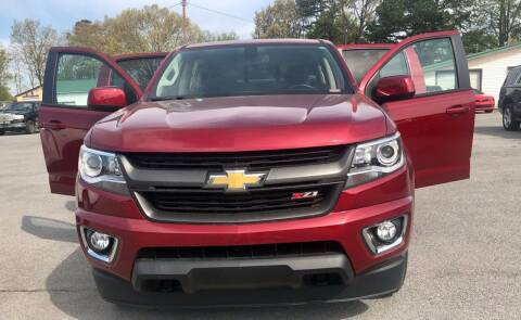 2018 Chevrolet Colorado for sale at Morristown Auto Sales in Morristown TN