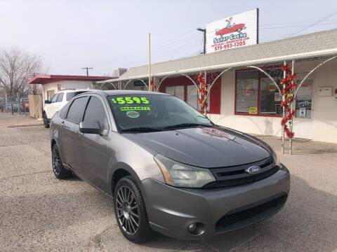 2010 Ford Focus for sale at Senor Coche Auto Sales in Las Cruces NM