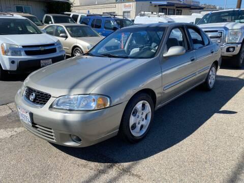 2003 Nissan Sentra for sale at Ricos Auto Sales in Escondido CA