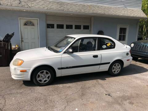 2003 Hyundai Accent for sale at 22nd ST Motors in Quakertown PA