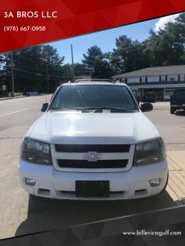 2008 Chevrolet TrailBlazer for sale at 3A BROS LLC in Billerica MA
