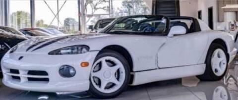 1996 Dodge Viper for sale at Classic Car Deals in Cadillac MI