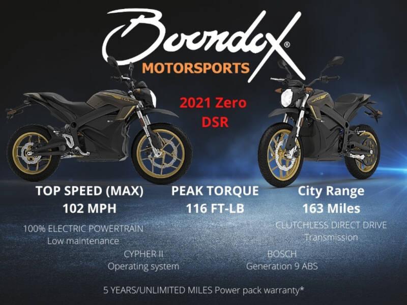 2021 Zero DSR ZF 14.4 for sale at Boondox Motorsports in Caledonia MI
