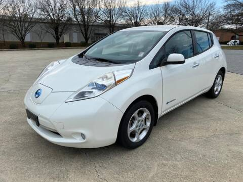 2013 Nissan LEAF for sale at Triple A's Motors in Greensboro NC
