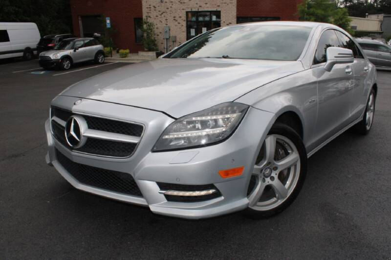 2012 Mercedes-Benz CLS for sale at Atlanta Unique Auto Sales in Norcross GA