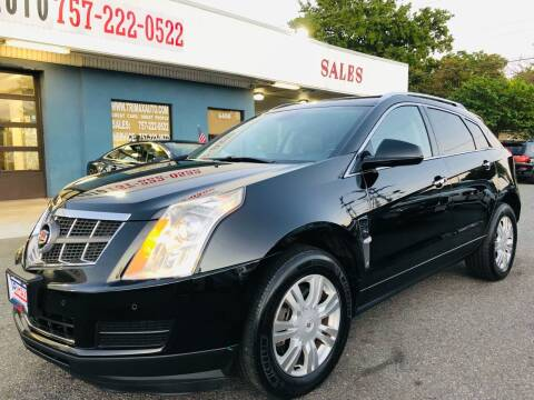 2012 Cadillac SRX for sale at Trimax Auto Group in Norfolk VA
