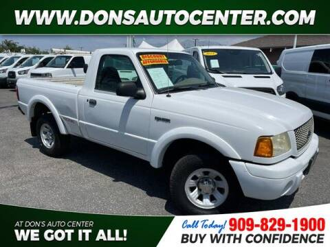 2003 Ford Ranger for sale at Dons Auto Center in Fontana CA