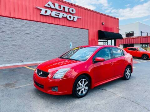 2012 Nissan Sentra for sale at Auto Depot of Madison in Madison TN