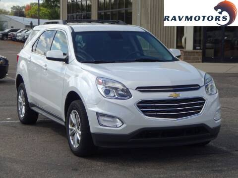 2016 Chevrolet Equinox for sale at RAVMOTORS 2 in Crystal MN
