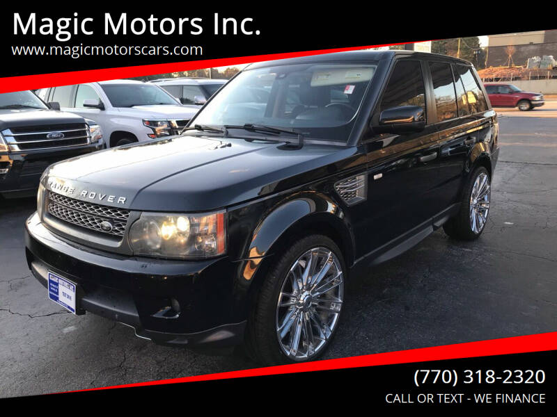 2011 Land Rover Range Rover Sport for sale at Magic Motors Inc. in Snellville GA