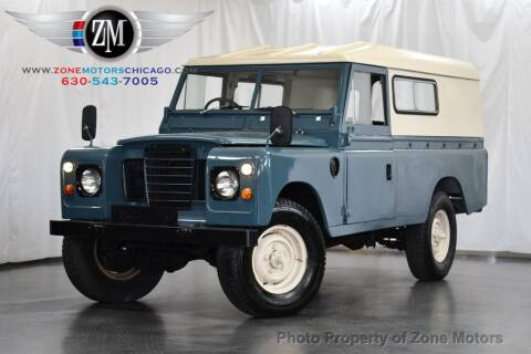 1973 Land Rover SERIES III for sale at ZONE MOTORS in Addison IL
