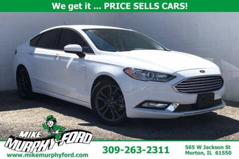 2018 Ford Fusion for sale at Mike Murphy Ford in Morton IL