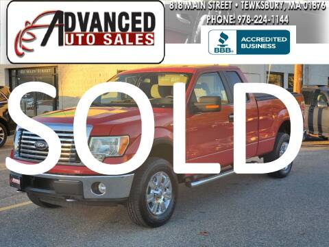 2010 Ford F-150 for sale at Advanced Auto Sales in Tewksbury MA