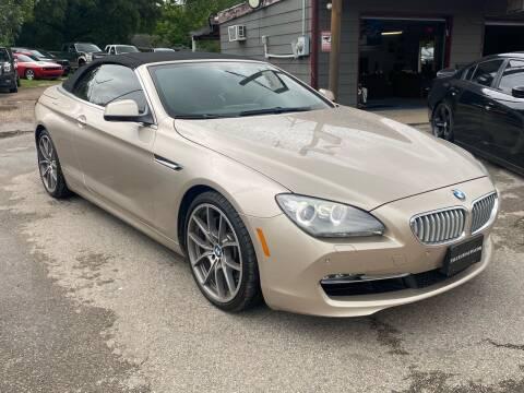 2012 BMW 6 Series for sale at Texas Luxury Auto in Houston TX