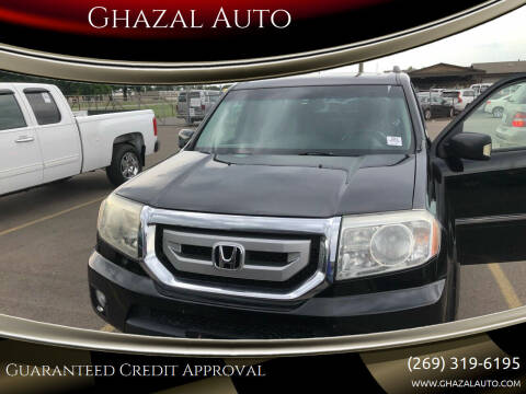 2009 Honda Pilot for sale at Ghazal Auto in Sturgis MI