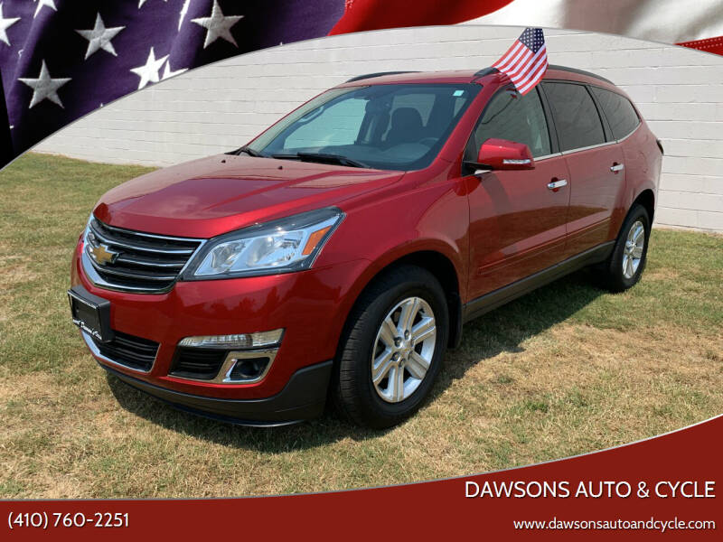2014 Chevrolet Traverse for sale at Dawsons Auto & Cycle in Glen Burnie MD