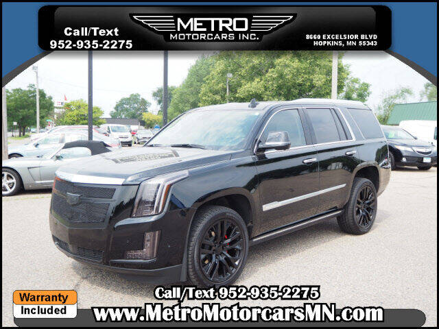 2020 Cadillac Escalade for sale at Metro Motorcars Inc in Hopkins MN