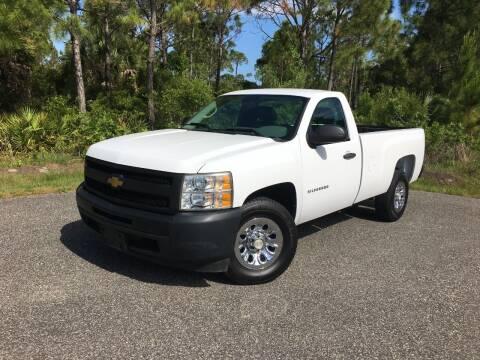 2012 Chevrolet Silverado 1500 for sale at VICTORY LANE AUTO SALES in Port Richey FL
