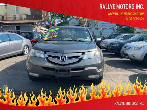 2007 Acura MDX for sale at Rallye  Motors inc. in Newark NJ