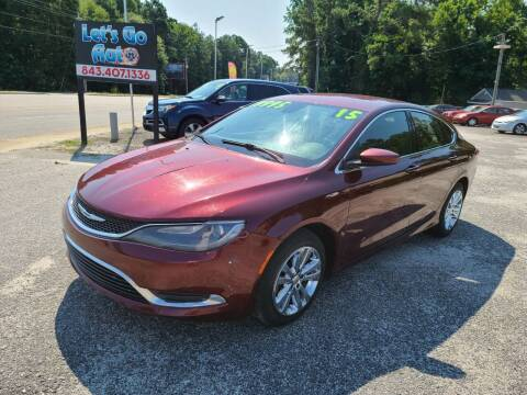 2015 Chrysler 200 for sale at Let's Go Auto in Florence SC