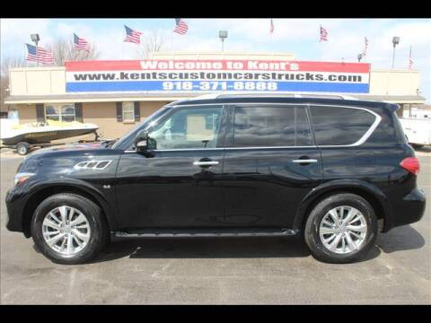 2017 Infiniti QX80 for sale at Kents Custom Cars and Trucks in Collinsville OK