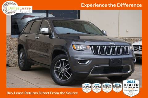 2017 Jeep Grand Cherokee for sale at Dallas Auto Finance in Dallas TX