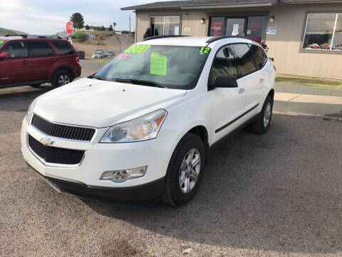 2012 Chevrolet Traverse for sale at Hilltop Motors in Globe AZ