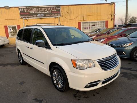 2013 Chrysler Town and Country for sale at Virginia Auto Mall in Woodford VA