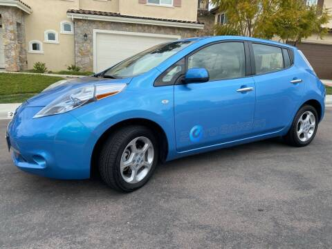 2011 Nissan LEAF for sale at CALIFORNIA AUTO GROUP in San Diego CA