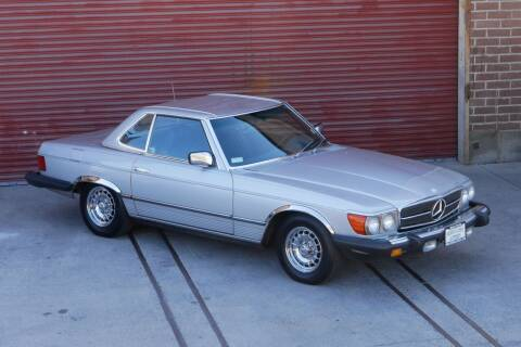 1985 Mercedes-Benz 380-Class for sale at Sierra Classics & Imports in Reno NV