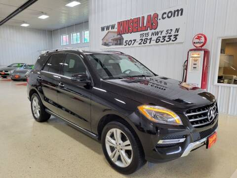 2014 Mercedes-Benz M-Class for sale at Kinsellas Auto Sales in Rochester MN