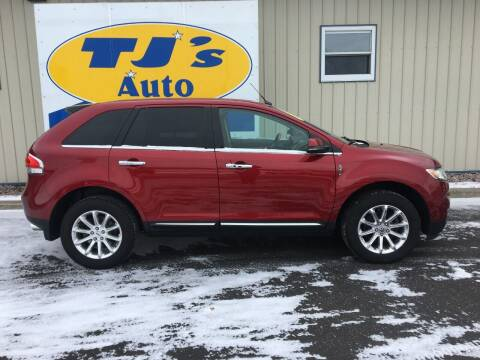 2014 Lincoln MKX for sale at TJ's Auto in Wisconsin Rapids WI