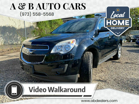 2014 Chevrolet Equinox for sale at A & B Auto Cars in Newark NJ