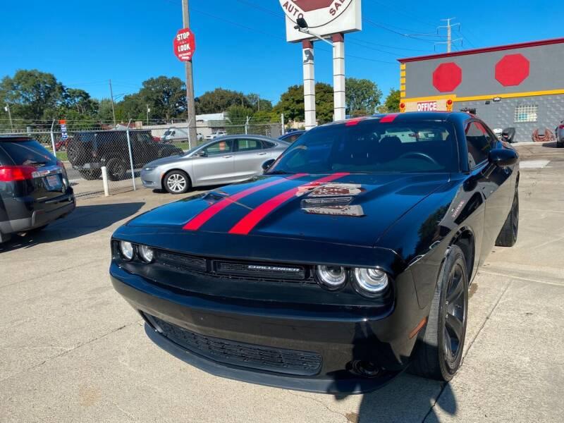 2015 Dodge Challenger for sale at Matthew's Stop & Look Auto Sales in Detroit MI