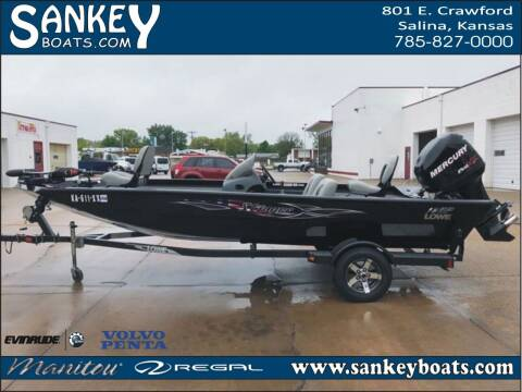2012 Lowe Stinger 18 HP for sale at SankeyBoats.com in Salina KS