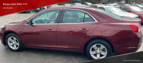 2016 Chevrolet Malibu Limited for sale at Rayyan Auto Mall in Lexington KY