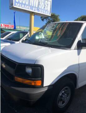 2016 Chevrolet Express Cargo for sale at H.A. Twins Corp in Miami FL