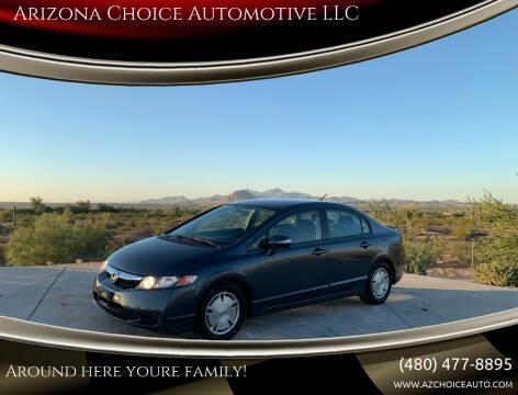 2010 Honda Civic for sale at Arizona Choice Automotive LLC in Mesa AZ
