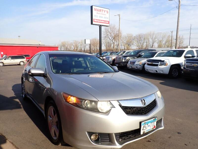 2009 Acura TSX for sale at Marty's Auto Sales in Savage MN