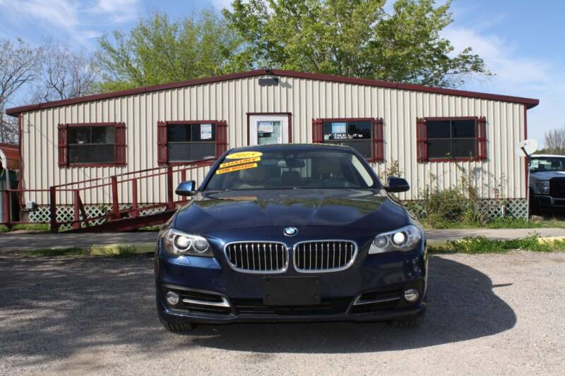 2015 BMW 5 Series for sale at Fabela's Auto Sales Inc. in Dickinson TX