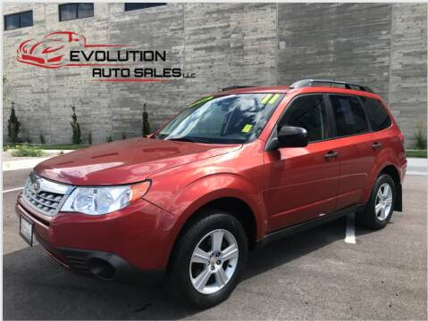 2011 Subaru Forester for sale at Evolution Auto Sales LLC in Springville UT