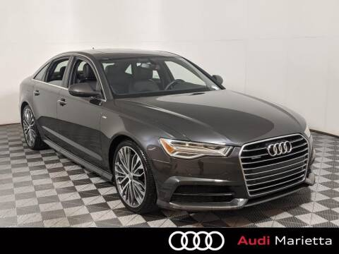 2017 Audi A6 for sale at CU Carfinders in Norcross GA